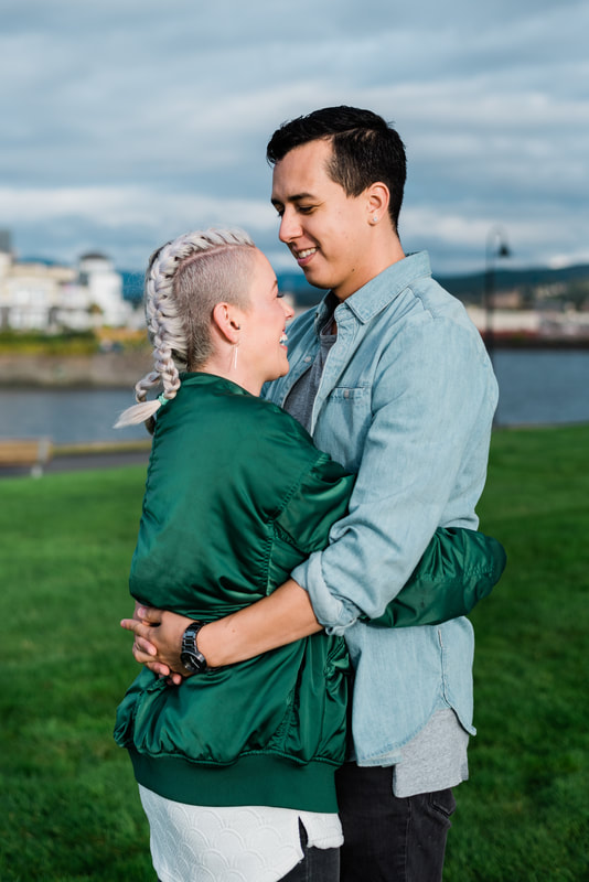 Bellingham WA Wedding and Engagement Photography, Zuanich Park, Caylie Mash Photography