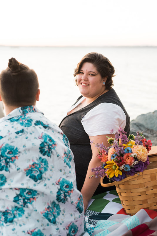 Bellingham, WA, Marine Park Engagement Session, Love, LGBTQ Engagement, Caylie Mash Photography