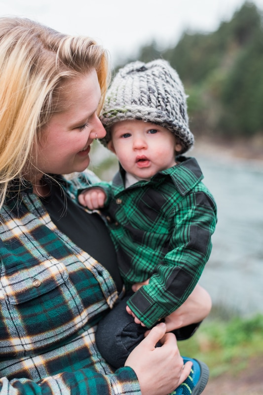 Bellingham Teddy Bear Cove Family Session, Caylie Mash Photography