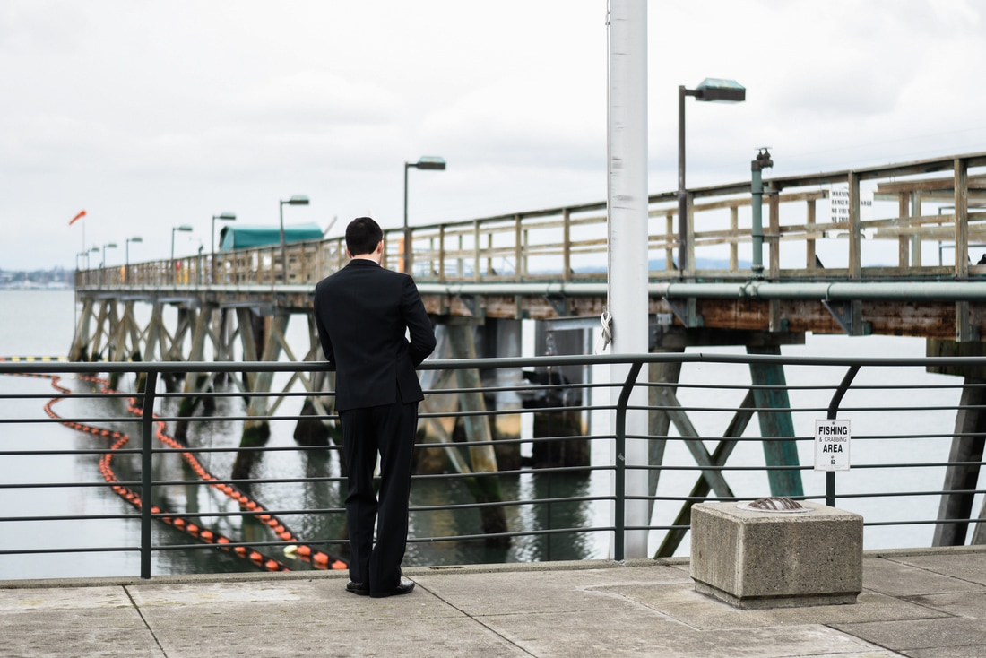 Bellingham Ferry Terminal Wedding, Caylie Mash Photography