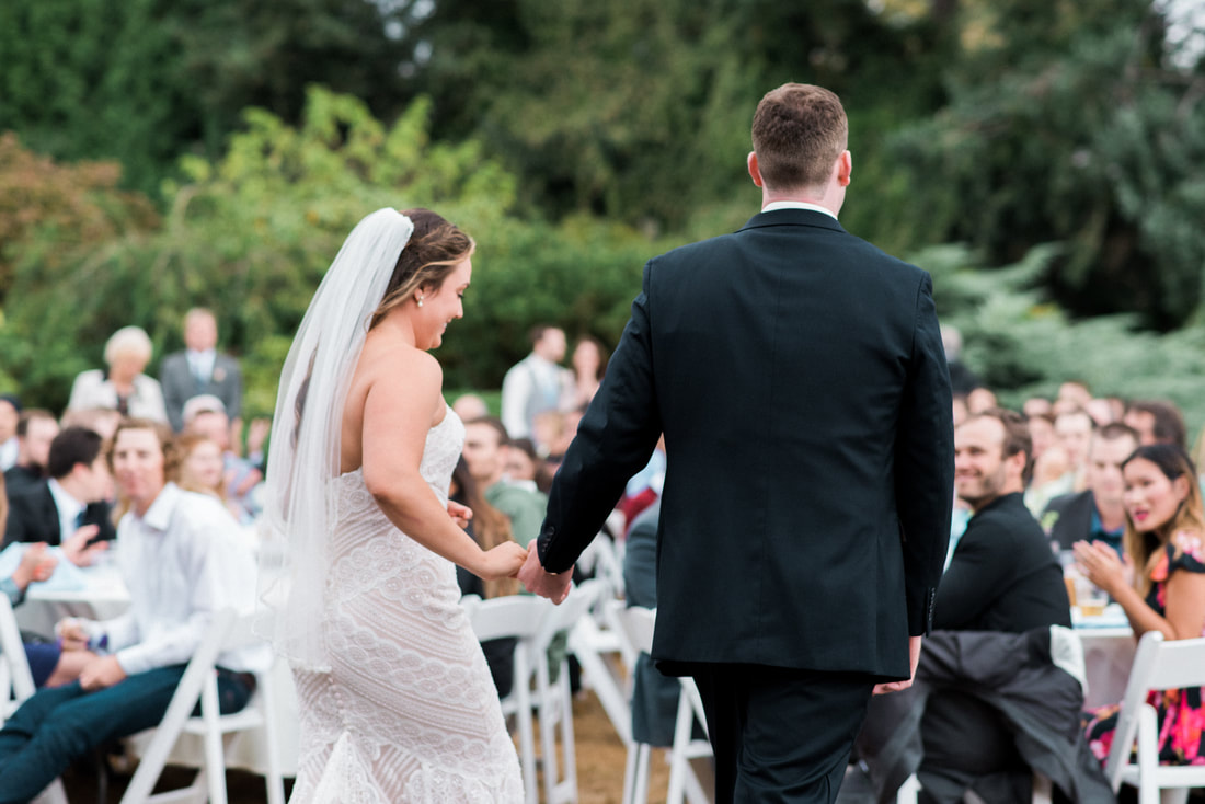 Caylie Mash Photography, Bellingham Washington Wedding and Engagement Photographer, Whatcom County, Rainy Pacific Northwest Backyard Wedding, PNW, Reception, First Dance