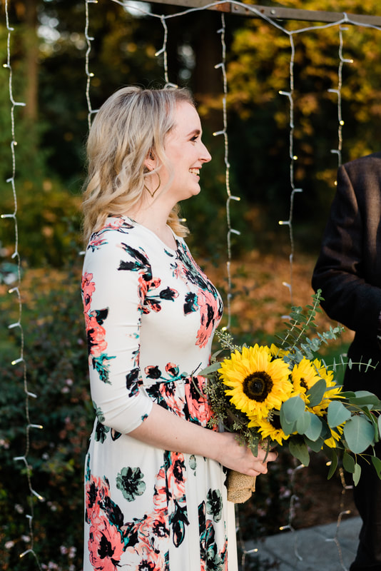 Ferndale Bellingham Lynden Elopement Wedding Backyard Outdoor, Caylie Mash Photography