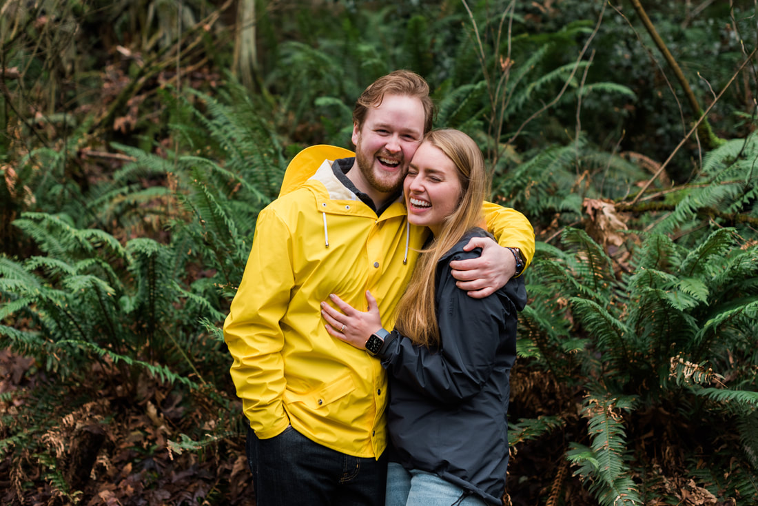 Saint Edwards Park Engagement Session, Kirkland WA, Caylie Mash Photography