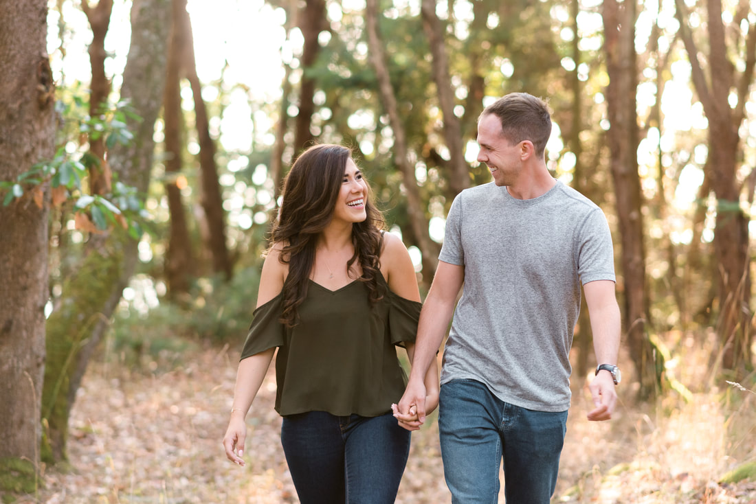 San Juan Island WA Engagement Session, Friday Harbor, Lime Kiln Park, Bellingham and Mount Vernon WA Wedding Photographer, Caylie Mash Photography